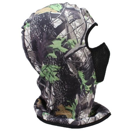 Best Winter Hats Adult Lightweight Full Face Mask Hardwoods Camouflage Beanie - Winter Timber