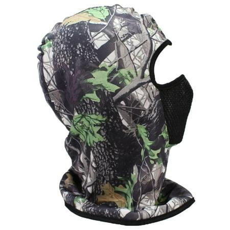 Best Winter Hats Adult Lightweight Full Face Mask Hardwoods Camouflage Beanie - Winter Timber Camo