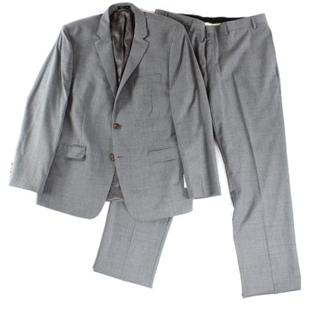 Medium Grey Wool Suit - Lauren By Ralph Lauren NEW Gray Mens Size 40S Two Button Wool Suit Set