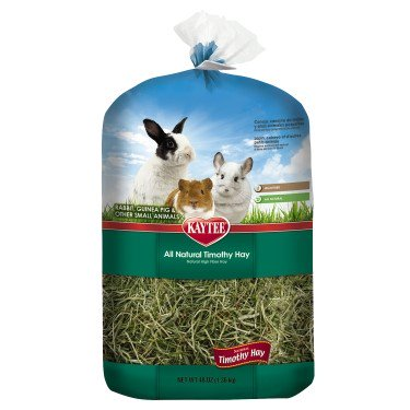 - Kaytee Natural Timothy Hay Small Animal Food, 48 Oz