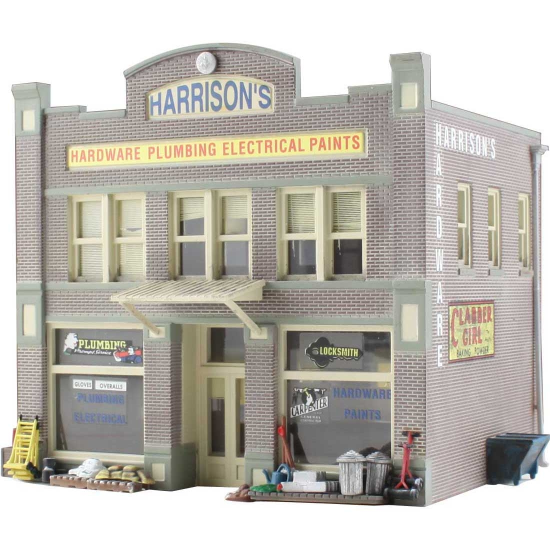Woodland Scenics-Harrison's Hardware - Built-&-Ready Landmark Structures(R) -- A