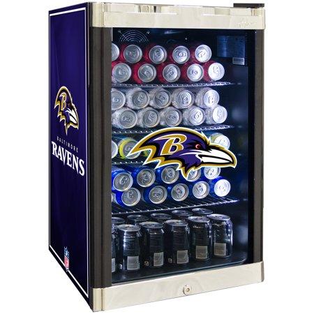Front Refrigerated Merchandiser - NFL Refrigerated Beverage Center 4.6 cu ft - Baltimore Ravens