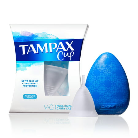 Tampax REG Flow Menstrual Cup, up to 12 hrs Comfort-Fit protection