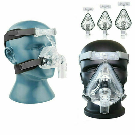 CPAP Masks Full Face and headgear Universal Adjustable