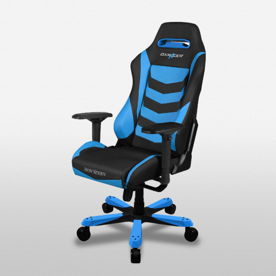 DXRacer Iron Series Black and Blue - OH/IS166/NB