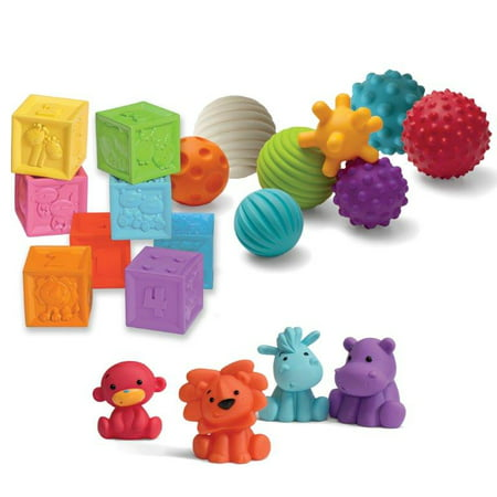 Balls, Blocks Buddies Activity Toy Set