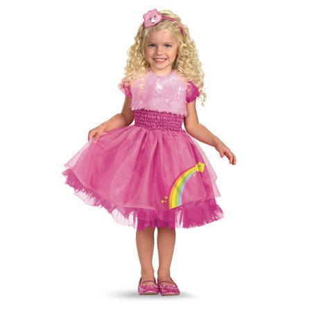 Care Bear Toddler Cheer Bear Costume Disguise 40334, 2T - Toddler Care Bear Costume