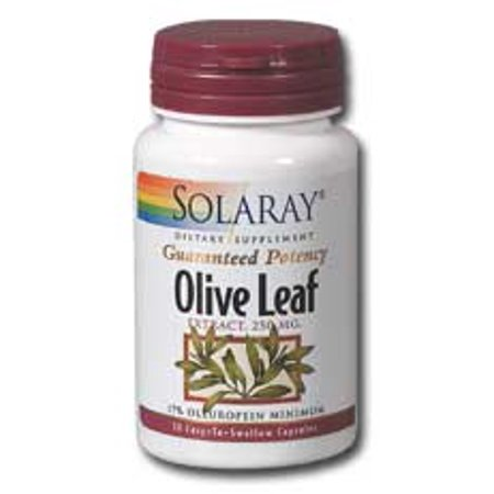 Solaray Olive Leaf Extract (Olive Leaf Extract 250mg Solaray 120)