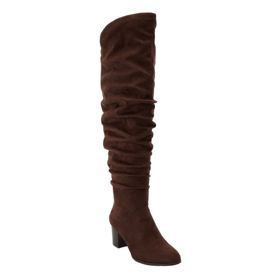 ccc4f6f1d64c Roamans - The Carmine Wide Calf Boot By Comfortview - Walmart.com