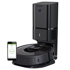 773080112b0 iRobot Roomba i7+ Wi-Fi Connected Robot Vacuum with Automatic Dirt Disposal  and Smart Mapping (7550)