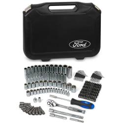 """Ford Motor Company FMCFHT0461 148 Pcs 1/4"""" & 3/8"""" Socket Set"""