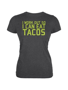 95cec1c7e Product Image Work Out Eat Tacos Juniors Soft T Shirt