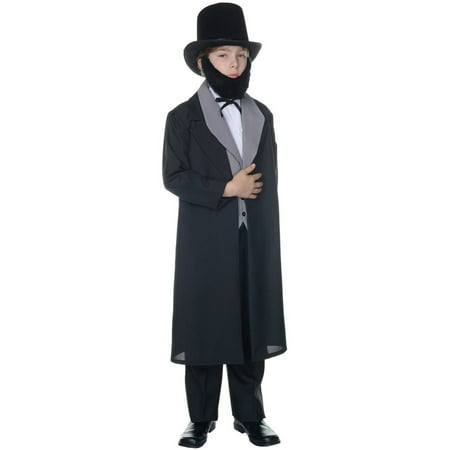Abraham Lincoln Boys Child Halloween Costume
