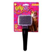 JW Pet Company GripSoft Cat Slicker Brush, Small 65033