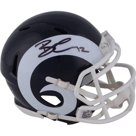 Brandin Cooks Los Angeles Rams Autographed Riddell Speed Mini Helmet - Fanatics Authentic Certified