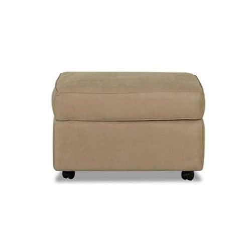 Klaussner Brighton Microfiber Ottoman by Klaussner Furniture