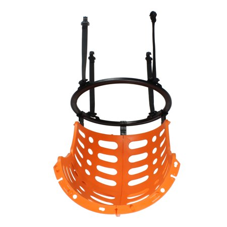 Automatic Ball Return - Get Out!™ Basketball Return Attachment Basketball Rebounder Attachment Ball Back