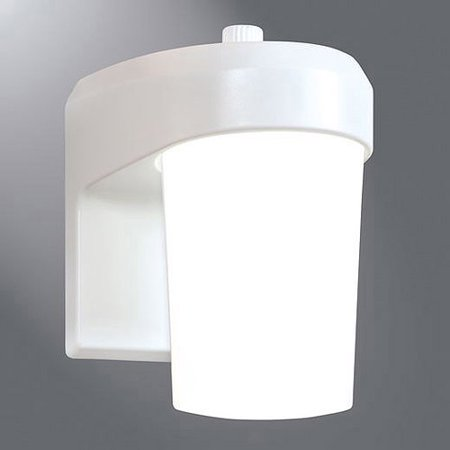 All Pro Led Dusk To Dawn Patio And Entry Light White