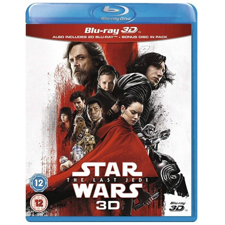 Star Wars: The Last Jedi 2017 3D Blu Ray Region