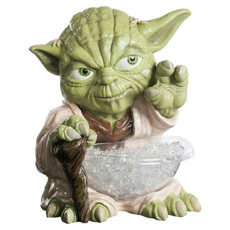Star Wars Classic Yoda Candy Small Bowl Holder Halloween Costume - Usa Today Halloween Candy