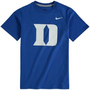 Duke Blue Devils Nike Youth Cotton Logo T-Shirt - Royal
