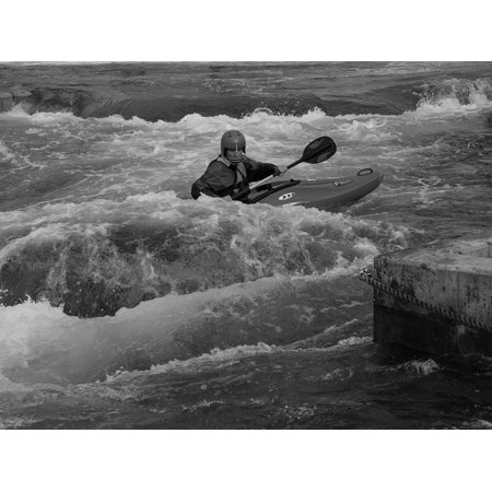 LAMINATED POSTER Water Flow Action Go Boating Rafting Boot Poster Print 24 x - Go Go Boots 1960