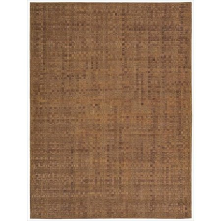 Nourison Barclay Butera Equestrian Saddle Area Rug by (5'3 x 7'5)