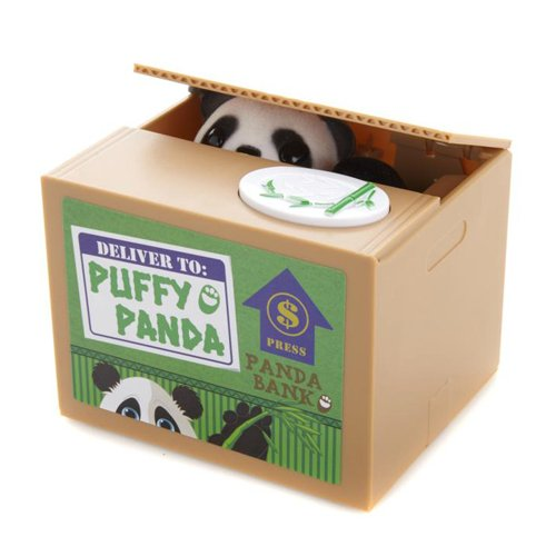Puffy Panda Money Bank