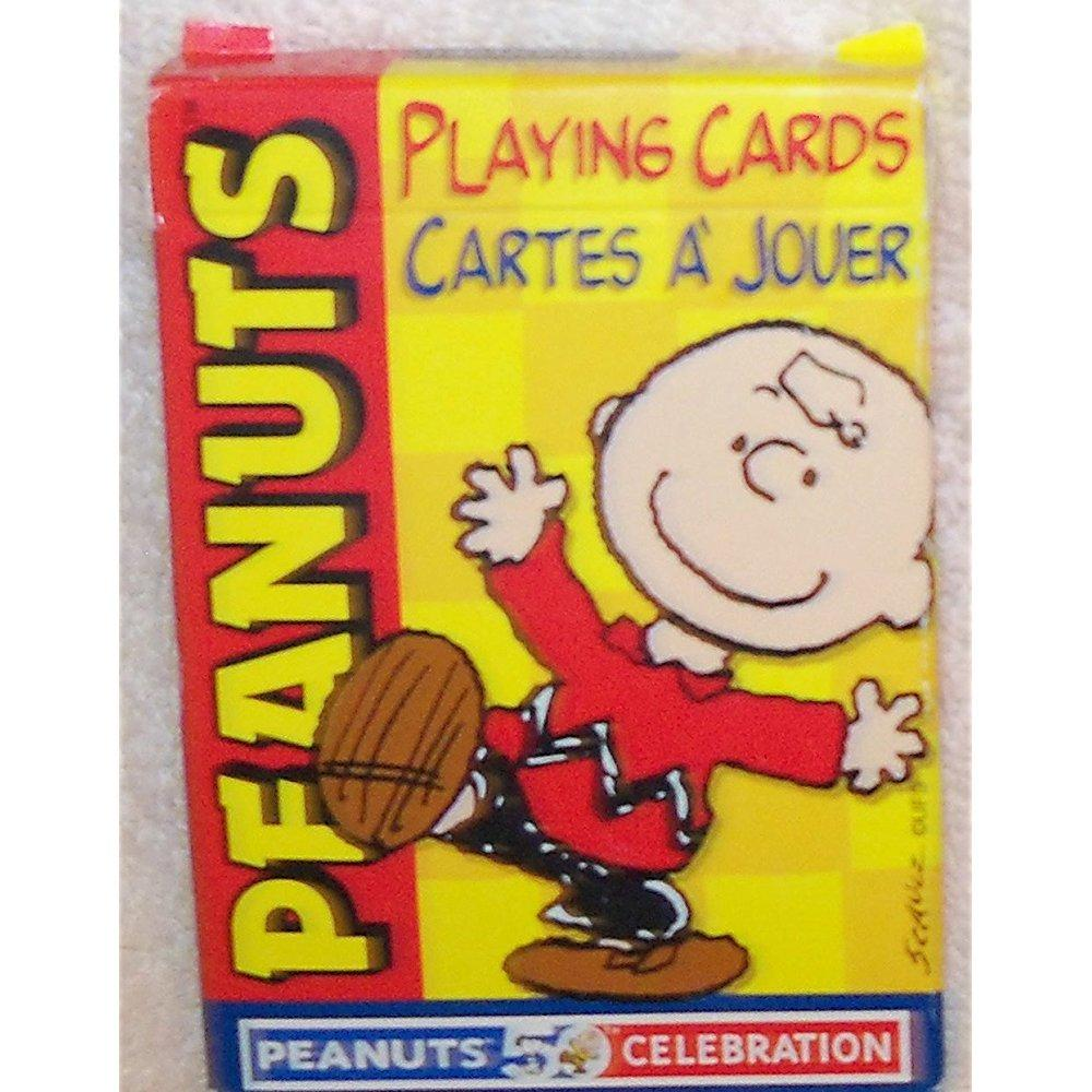 Peanuts Playing Cards Deck 50th Anniversary Charlie Brown, Snoopy & Gang by