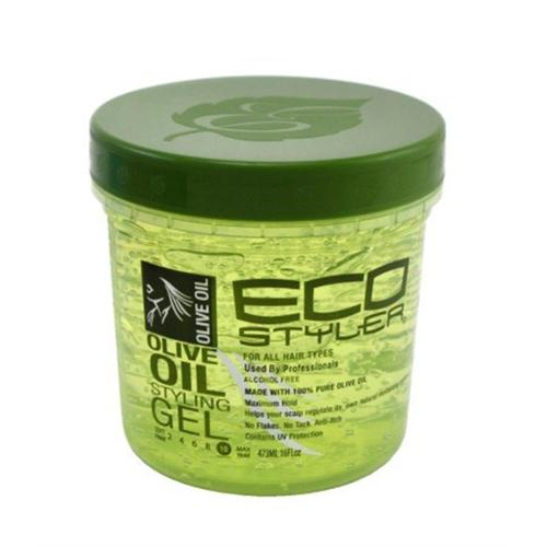 ECOCO EcoStyler Styling Gel, Olive Oil, 16 oz (Pack of 3)