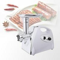 Ktaxon 2800W Max Electric Meat Grinder Set Kitchen Slicer / Shredder Sausage Stuffer Maker