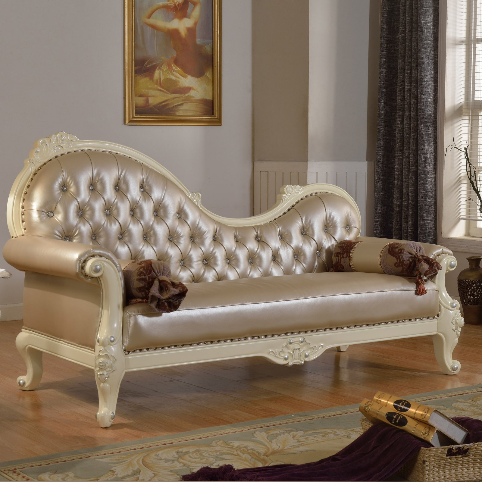 Meridian Furniture Inc Madrid Indoor Chaise Lounge by Meridian Furniture USA