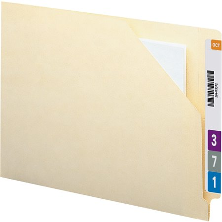 Smead End Tab File Jacket with Antimicrobial Product Protection