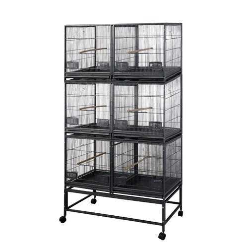A and E Cage Co. 6-Unit Breeder Bird Cage by A and E Cage Co LLC