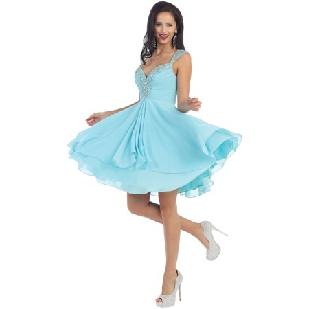 FLOWY SHORT SEMI FORMAL DANCE -