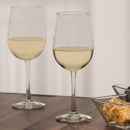 Libbey Midtown White Wine Glasses, Set of