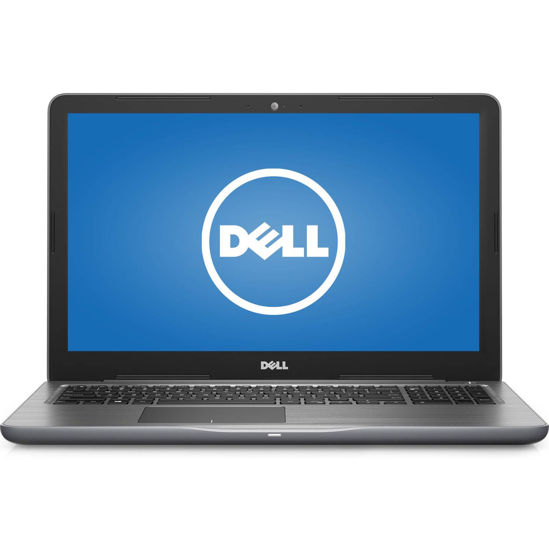 "Dell - Inspiron 15.6"" - AMD A12 - 8GB Memory - AMD Radeon R7 M445 - 1TB HD - Matte gray"