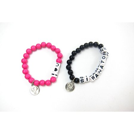 Jojo Siwa 2 Pack Bff Beaded Friendship Bracelets
