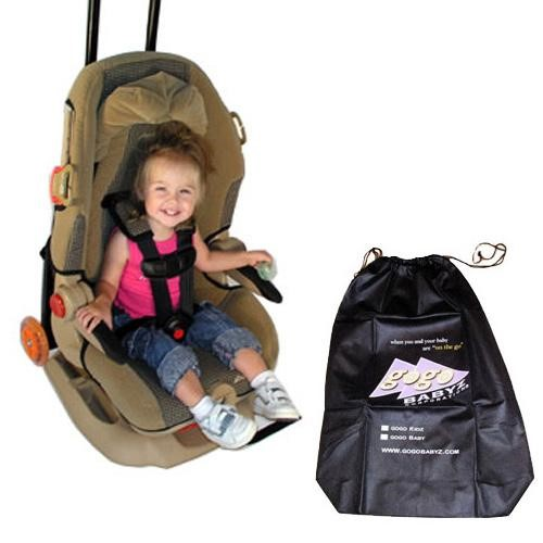 GoGo Babyz TMWBAG Kidz Travel Mate Stroller Attachment With Free Travelmate Storage Bag