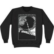 Counterparts Men's  Outcast Sweatshirt Black