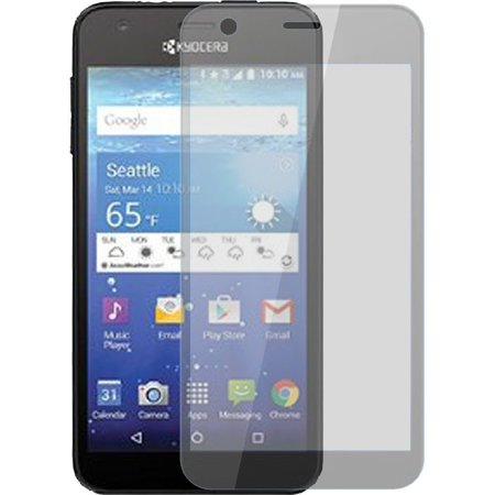 2 Pack For Kyocera Hydro View Reach Shore Real Tempered Glass Film Screen Protector