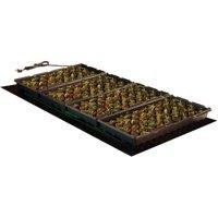 """Hydrofarm 48"""" x 20"""" Seedling Heat Mat, 107W"""