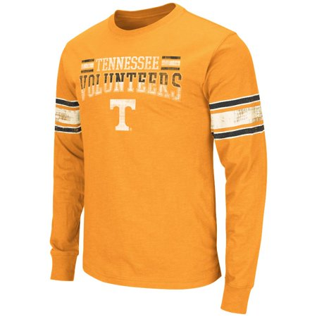 (Mens NCAA Tennessee Volunteers Long Sleeve Tee Shirt (Team Color))