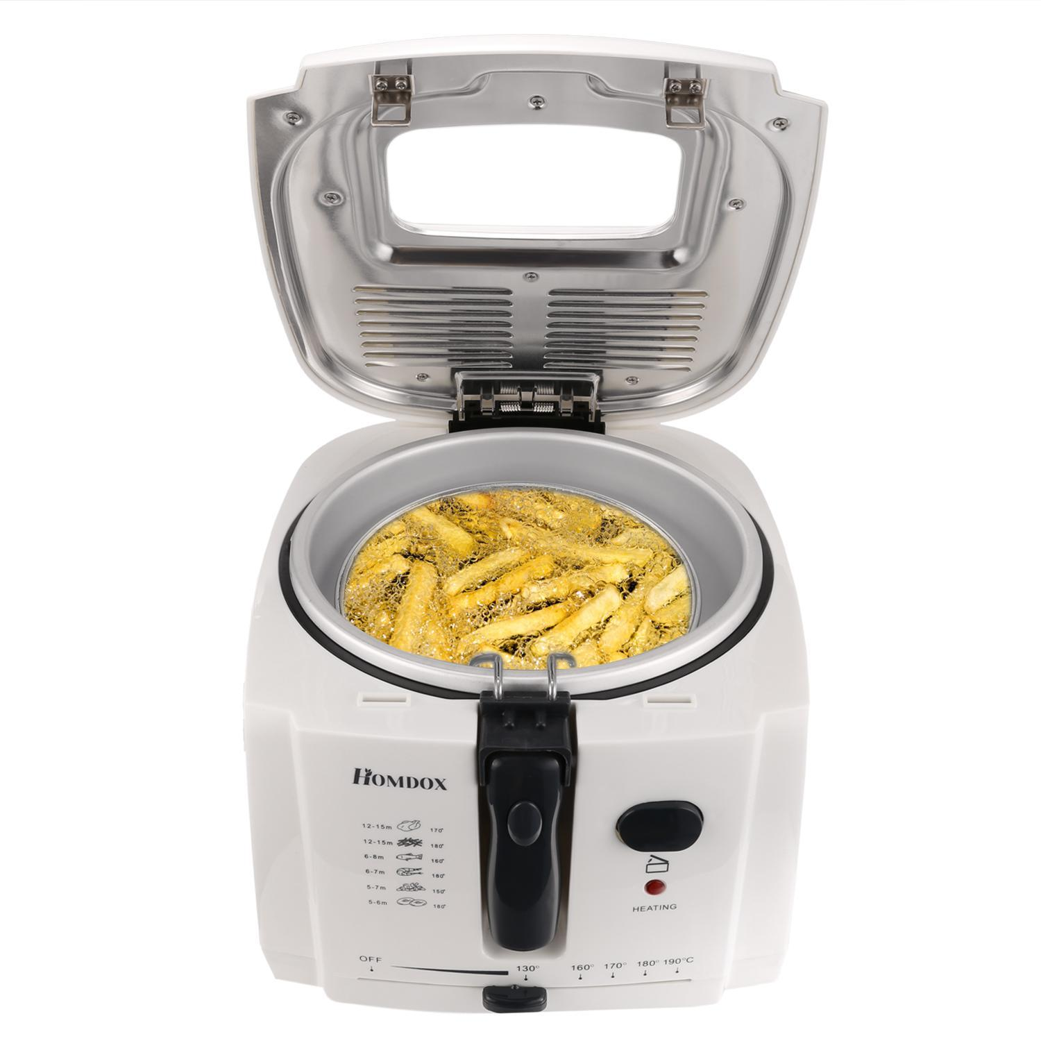 1500W Electric Deep Fryer Cool-touch, 8 cup Oil Capacity, DF-7 BTC