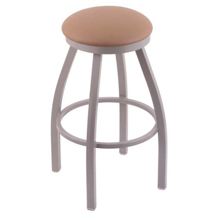 Holland Bar Stool Misha Backless 36 in. Extra Tall Swivel Bar Stool with Faux Leather Seat