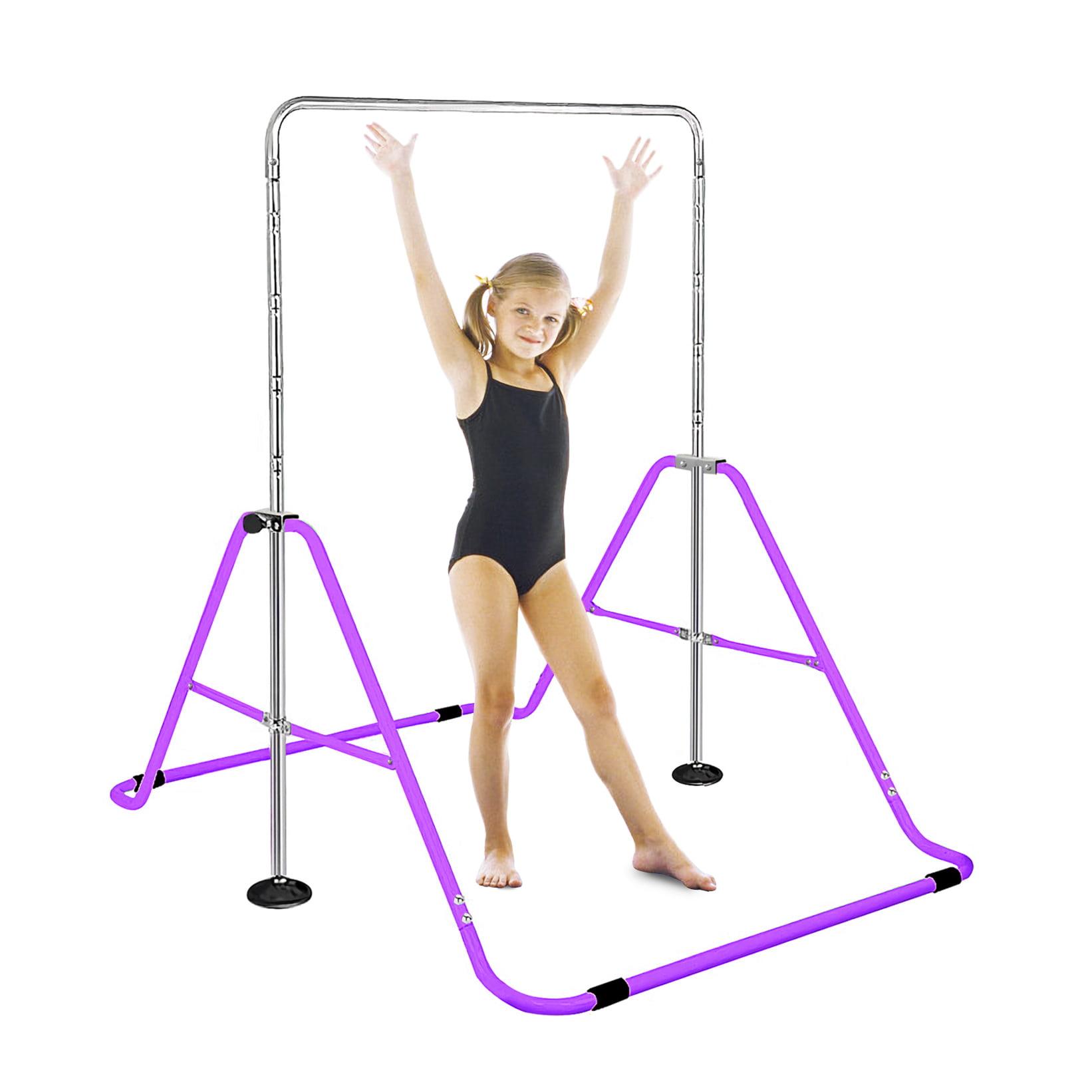 Horizontal Training Bar Gymnastics Junior Kip Bar Kids Home Gym Sport Adjustable