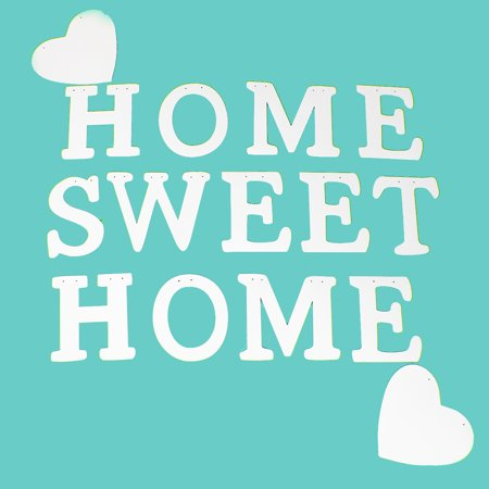 """Vintage """"Home Sweet Home"""" Wedding Banner Party Decor Bunting Photo Booth Props - image 5 of 10"""