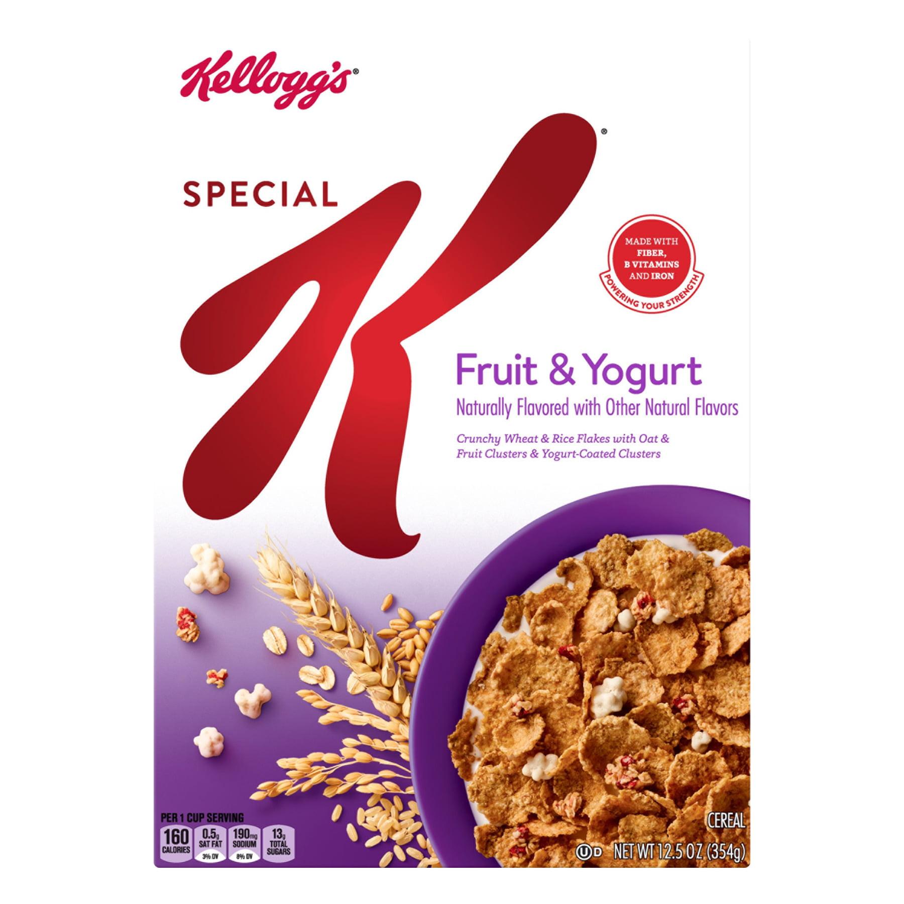 Kellogg S Special K Breakfast Cereal Fruit Yogurt 12 5 Oz