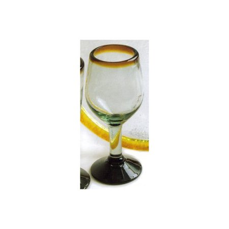Magellan Mexican Glass Tulip Wine