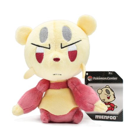 "Pokemon Center Pokedoll Plush Doll USA - 5.5"" Mienfoo/Kojofu - image 1 de 1"